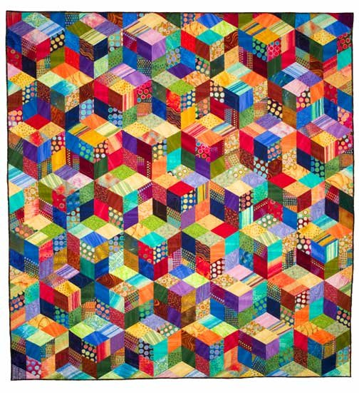 The Big Tumble Multi size Quilt Pattern by Laura Nownes