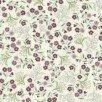TTP0003M-06 Cream Floral Melba Metallic Nouveau