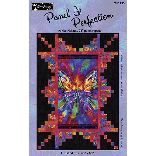 I Dream of Poppies Quilt Kit using Panel Encore Pattern