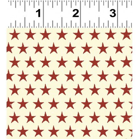 y2416-82 Cream w_Red Stars Land That I Love Dan DiPaolo