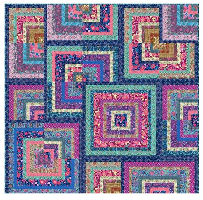 You Complete Me Quilt Kit by Amy Butler Featuring Soul Mate