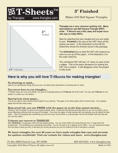 3 T-Sheets from Thangles