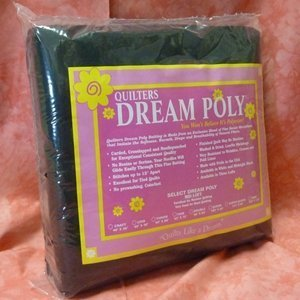 BLACK Quilters Dream Poly - Select Queen 108 X 93
