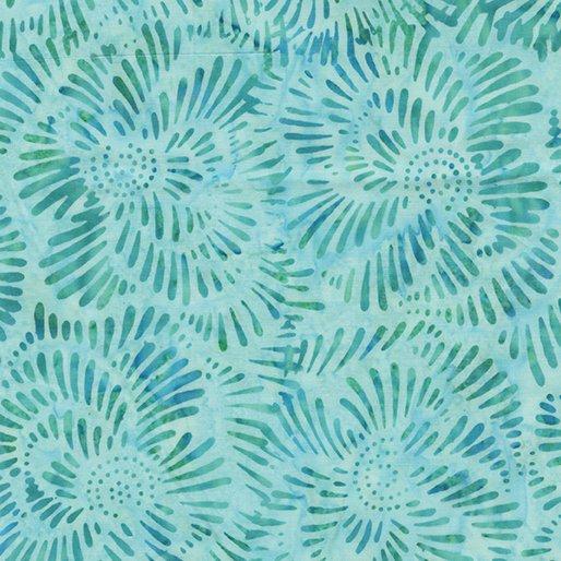 Bali Colorama  Swirl Aqua by Benartex