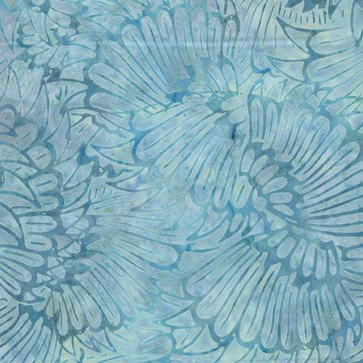 Bali Colorama Plume Aqua by Benartex