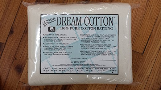 Quilters Dream Request King 122 x120 cotton Natural