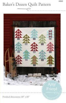 Baker's Dozen Quilt Pattern Amy Friend - During Quiet Time