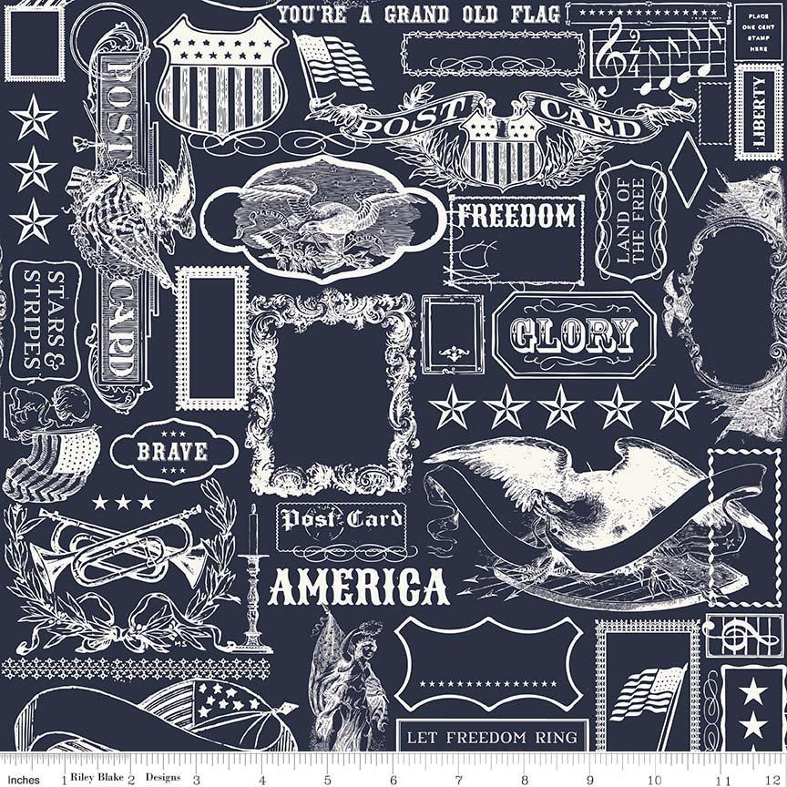 Americana Main Navy