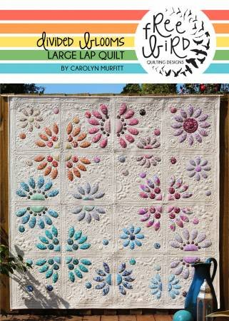 Divided Blooms - Free Bird Quilting Designs