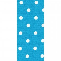 Dunroven Towel White Dot on Turquoise