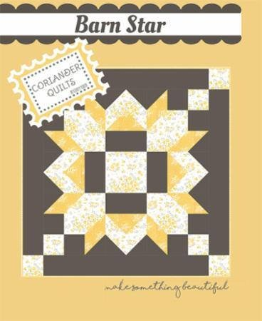 Barn Star pattern by Coriander Quilts