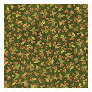 Autumn Song green by Sandy Lynamcough for Red Rooster