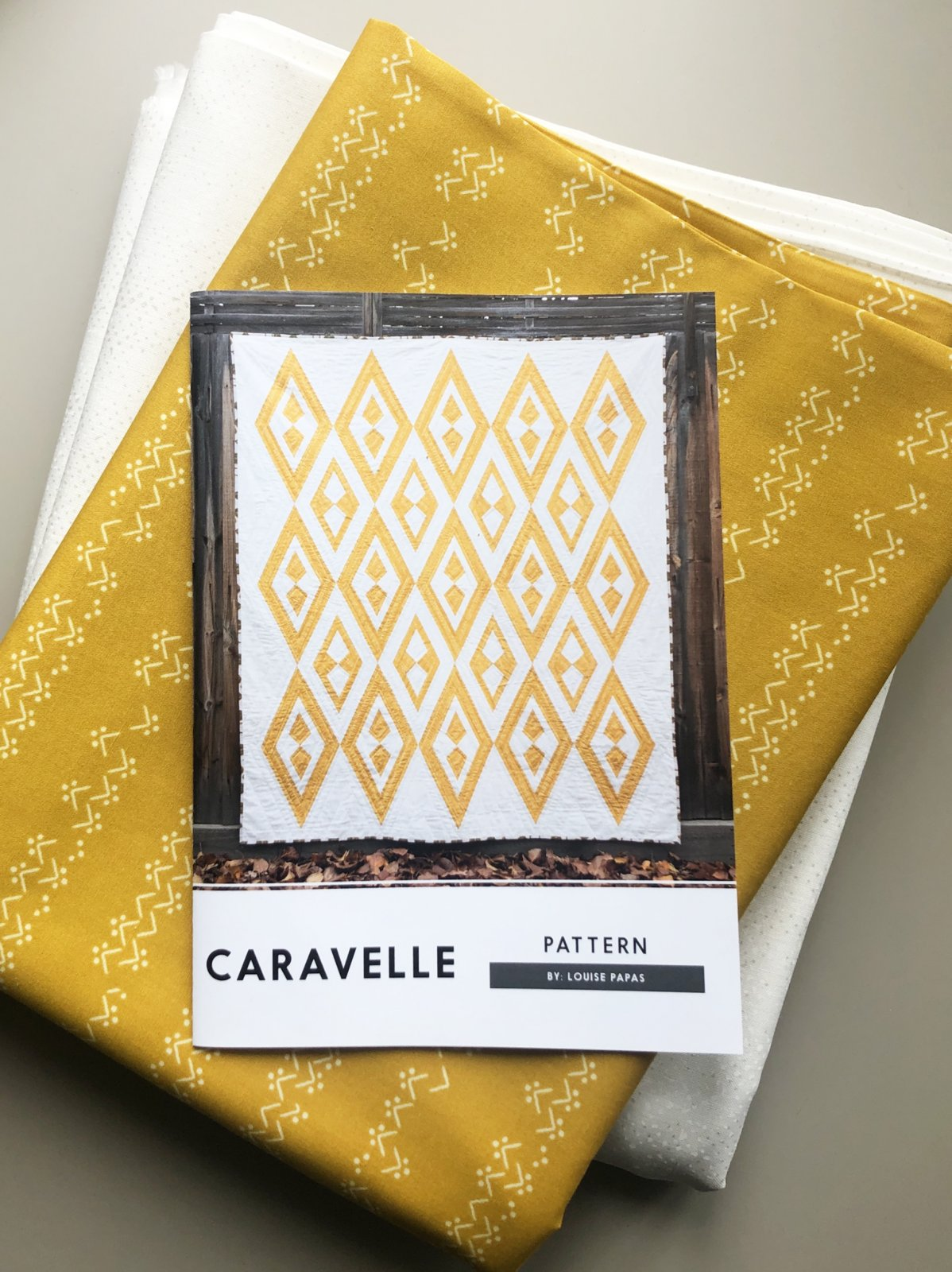 Caravelle Quilt Kit - Fabric & Pattern