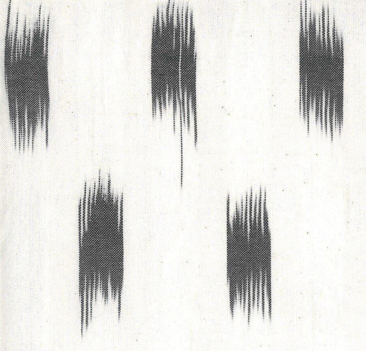 Moda - Jen Kingwell - Low Volume Wovens - Ikat Charcoal