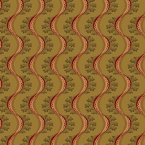 Marcus Fabrics - Journey To America - Mustard