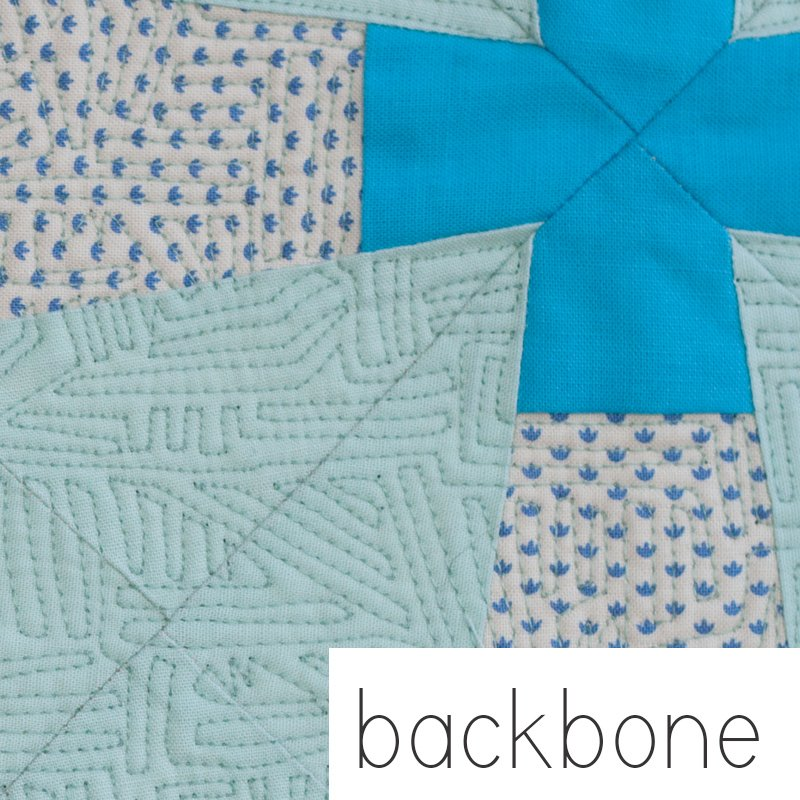 The Backbone Quilt Pattern by Carolyn Friedlander -