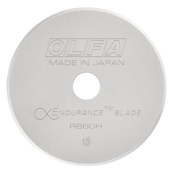 Olfa Rotary Cutter Blade (ENDURANCE) 60mm X1