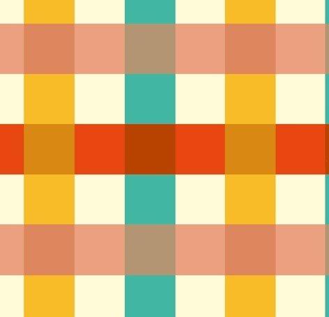 Windham Fabrics - Heather Ross - Malibu - Large Check #2