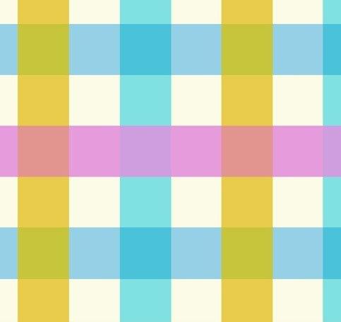 Windham Fabrics - Heather Ross - Malibu - Large Check #3