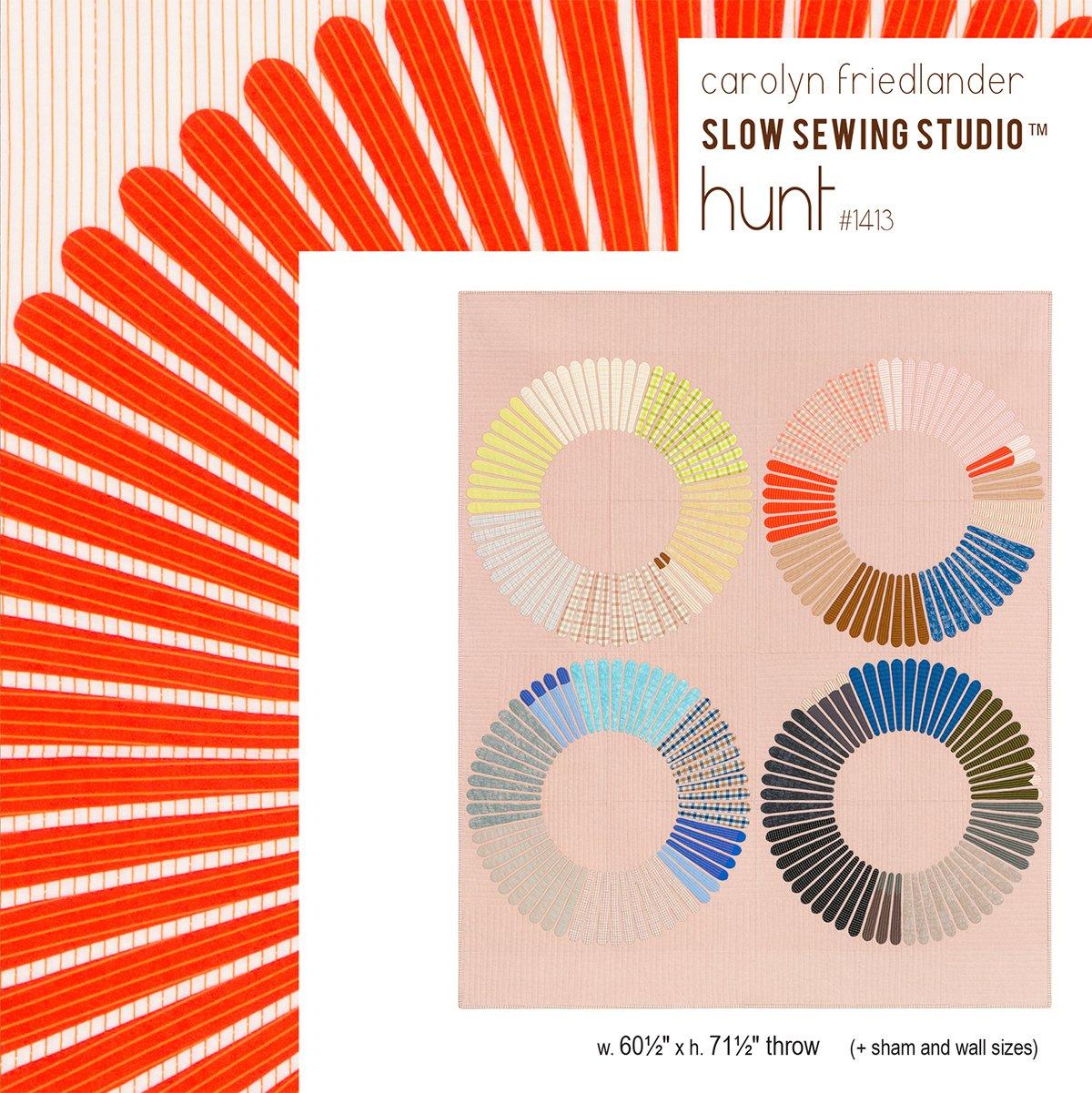 Hunt Quilt Pattern by Carolyn Friedlander