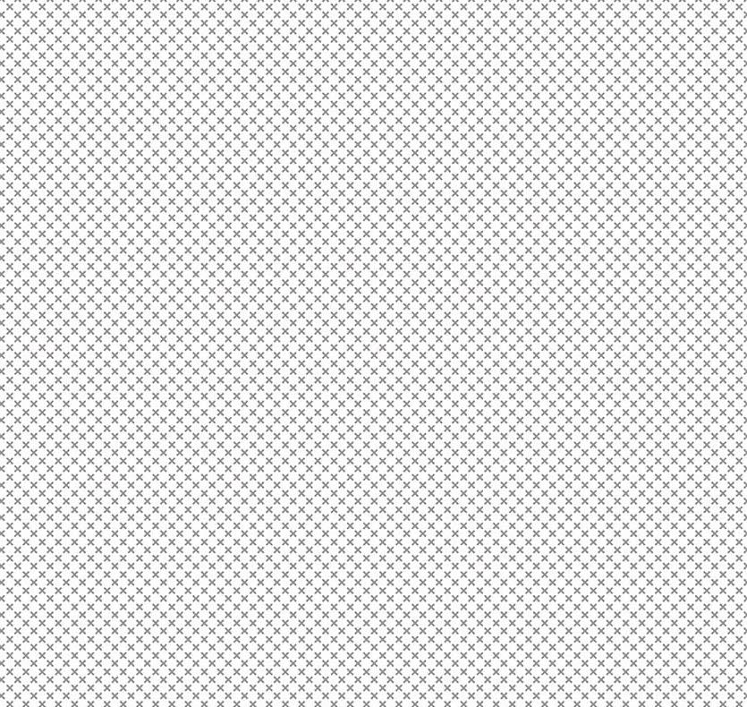 Kisses - Grey on White