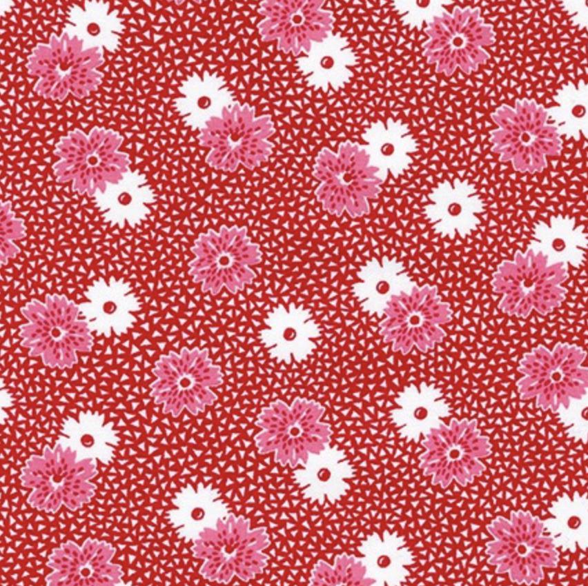 Windowsill Garden - Red / Pink Flowers- Darlene Zimmerman
