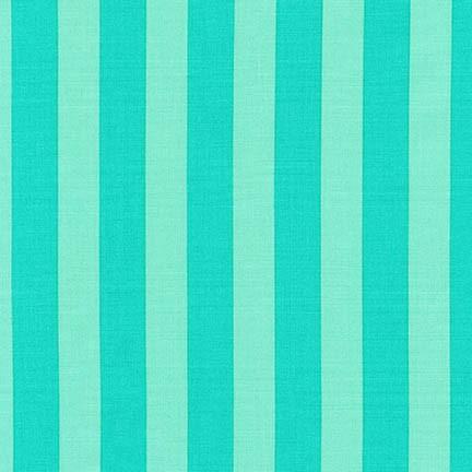 Robert Kaufman - Rebecca Bryan - Panache Stripes - Pool