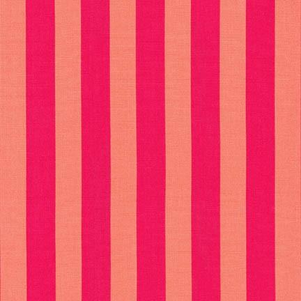 Robert Kaufman - Rebecca Bryan - Panache Stripes - Strawberry