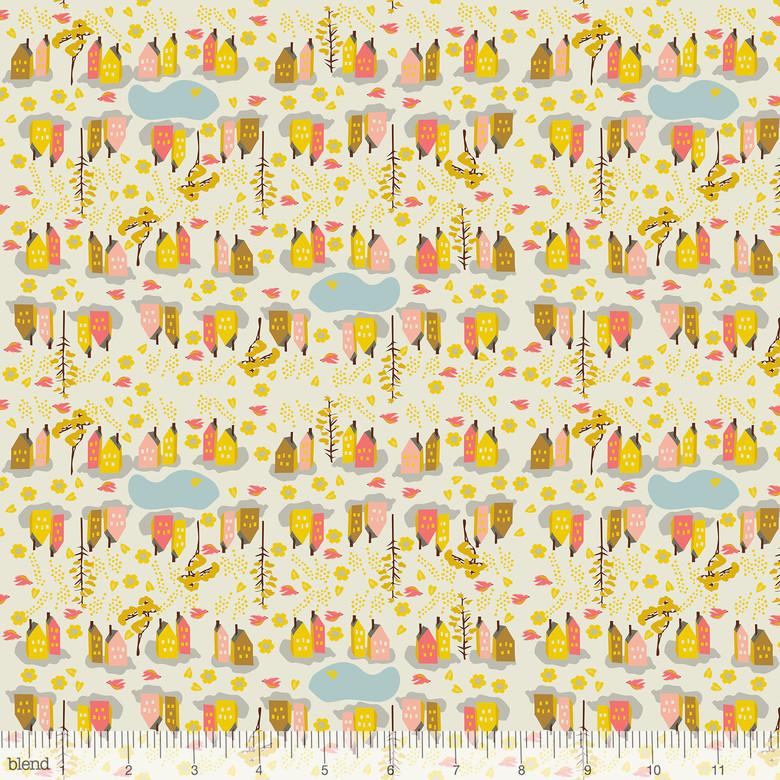 Blend Fabrics - Elizabeth Grubaugh - Caravan - Neighbourhood Yellow