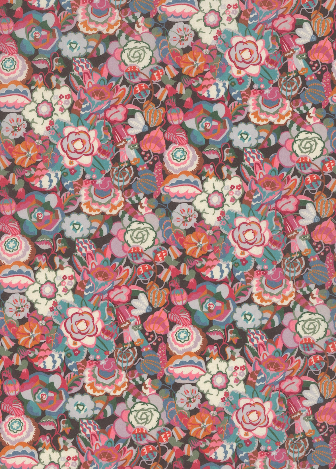 Liberty Of London - A Palace Garden - Gatsby Garden Small - Pink