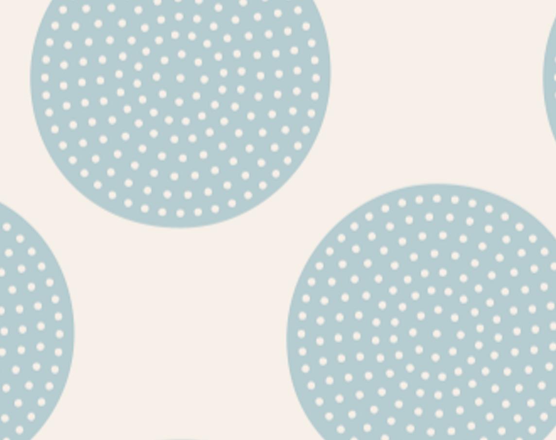 Tilda - Tone Finnanger - Classic Basics - Dottie Dots - Light Blue