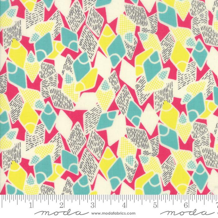 Moda - Jen Kingwell - Remix - Flip Flops - Fuchsia