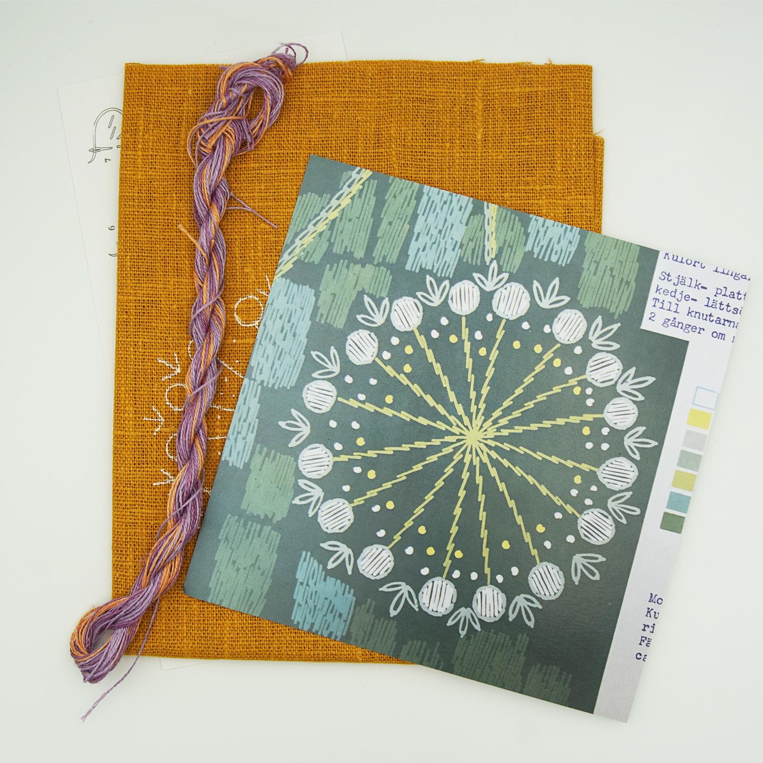 Linladan - Seed Ball - Swedish Embroidery Kit 159