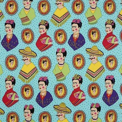 Alexander Henry - Fantastico Frida - Turquoise