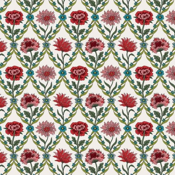 Liberty Of London - Summer House - Kew Trellis - Cream