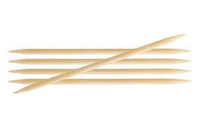 Knit Pro - 15cm Bamboo Double Pointed Needles 2.75mm