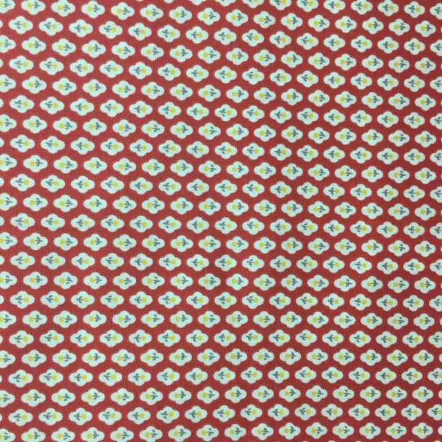 Handworks - Homey Collection - Flower Spots - Red