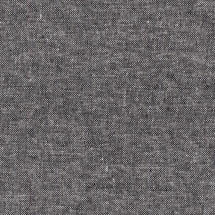 Robert Kaufman - Essex Yarn Dyed Homespun - Black