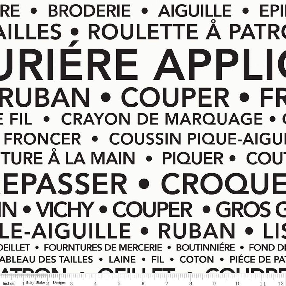 Riley Blake - J.Wecker Frisch - Courturiere - French