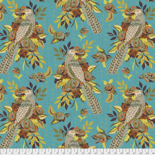 Free Spirit - Kathy Doughty - New Vintage - L'oiseau - Azure