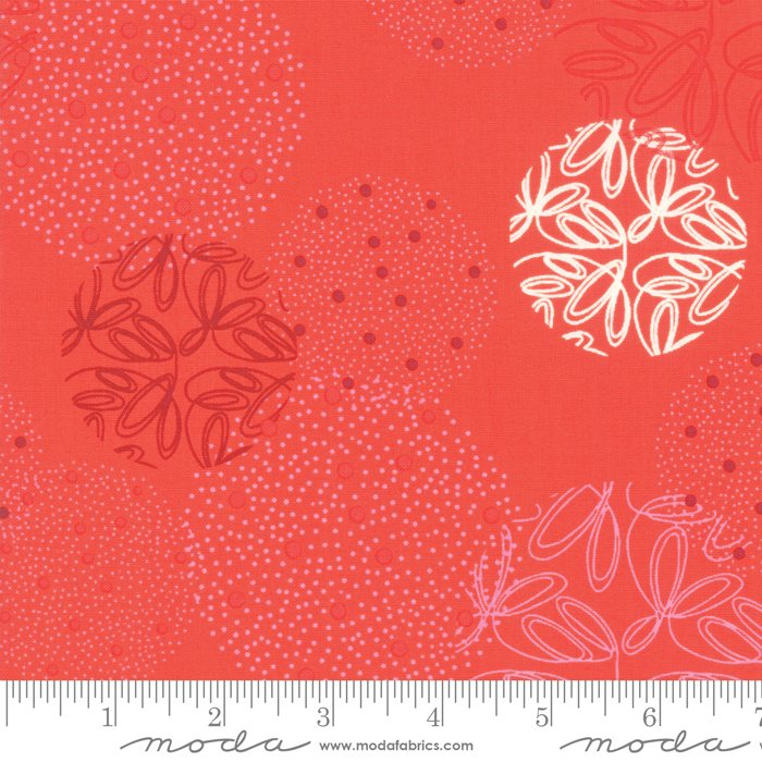 Moda - Zen Chic -  Just Red -  Spheres - Cayenne