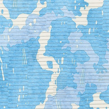 Robert Kaufman - Carolyn Friedlander - Jetty - Waterfall