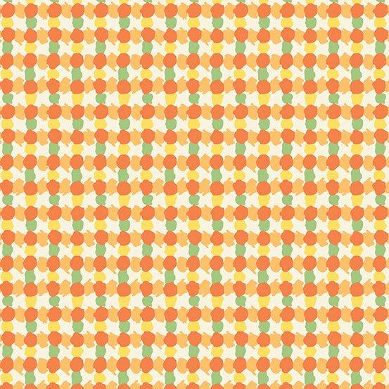 Andover - Darling Clementine - Leaf - Orange