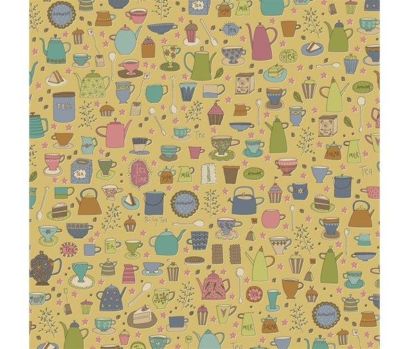 Henry Glass - Anni Downs - Tealicious - Tea Cups & Tea Pots - Yellow