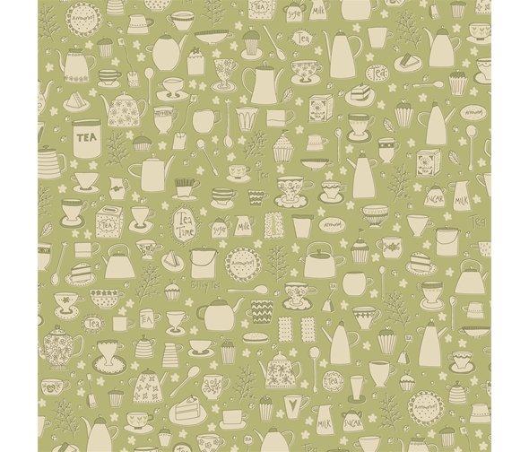 Henry Glass - Anni Downs - Tealicious - Tea Cups & Tea Pots - Sage