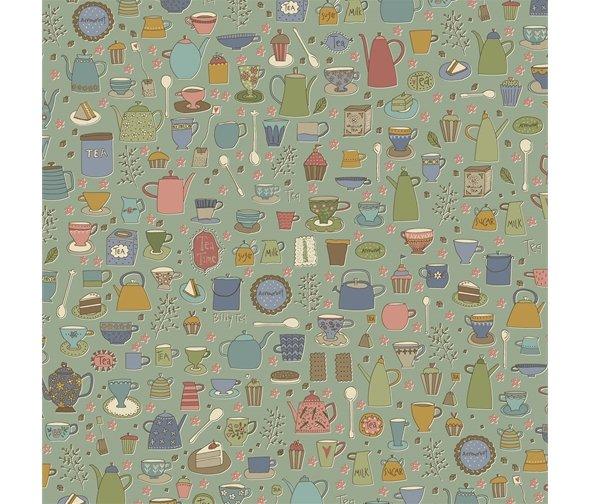 Henry Glass - Anni Downs - Tealicious - Tea Cups & Tea Pots - Slate Blue