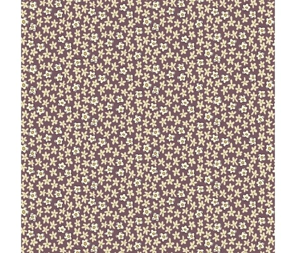Henry Glass - Anni Downs - Tealicious - Mini Daisies - Plum