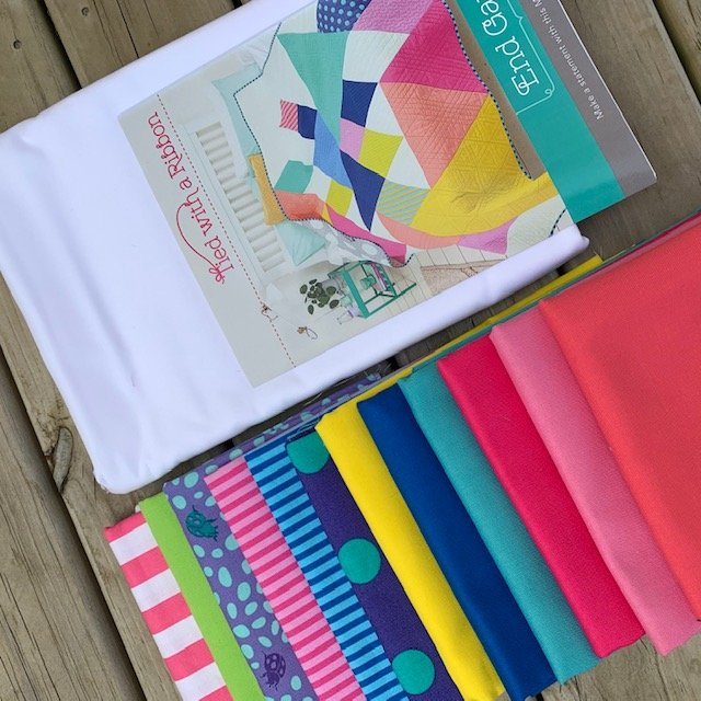 End Game Quilt Kit - Fabric & Pattern