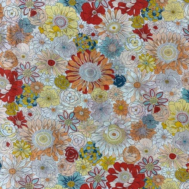 Sevenberry - Retro Flowers - Peach