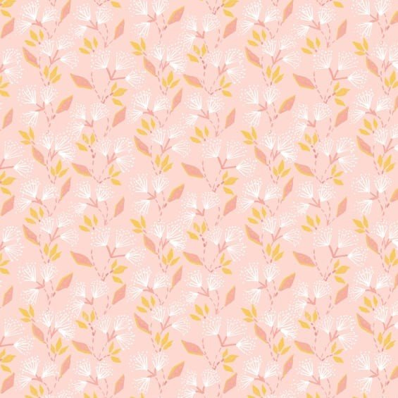 Free Spirit -  Ganesha Gardens - Mystic Pink